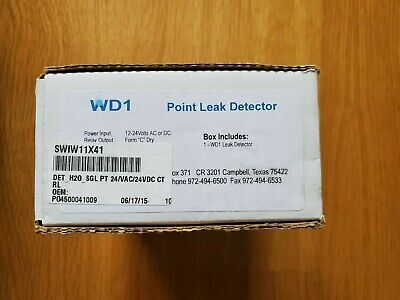 Wd1 Point Leak Detector For Hvac Water