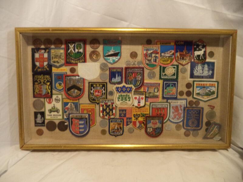 PATCH  Vintage Souvenir Collection-York, Rye, Chester, Bastogne, Olympiade lom
