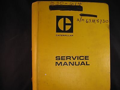 Caterpillar Cat 631 633 Tractor Scraper Service Manual