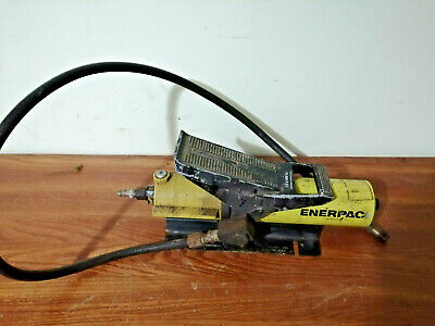 Enerpac Pa-133 10000 Psi Cap Air Powered Hydraulic Pump With Hose