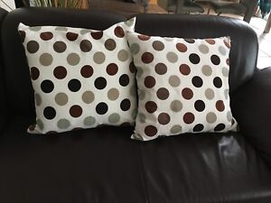 2 Pillows with pillow cases