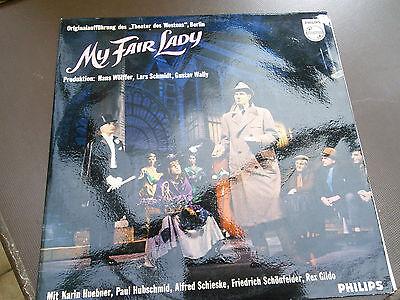 """LP My fair lady Originalaufführung des """"Theater des Westens""""Berlin mit Karin Hue"""