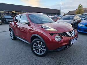 2016 Nissan Juke F15 Series 2 ST X-tronic 2WD Red Automatic 1 Speed Constant Variable Hatchback 1.6L