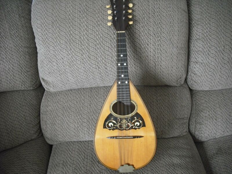 Vega Vintage Bowl Back Mandolin 1911