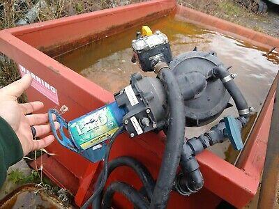 Flowserve 12 V Ces Ph6 Barrel Volt Fertilizer Chemical Def Pump W Gpi Flow Meter
