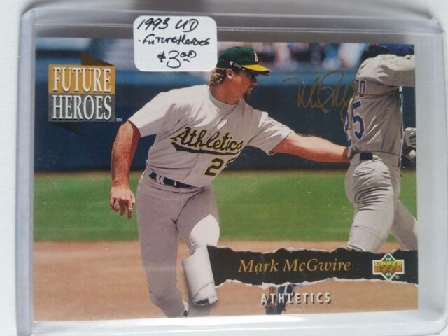 1993 Upper Deck Future Heroes #60 Mark McGwire : Oakland Athletics