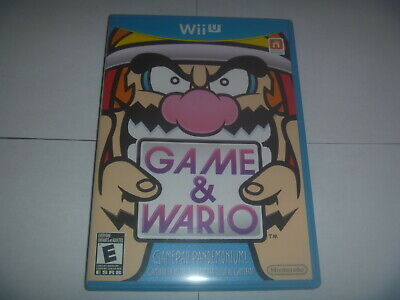 Game & Wario (2013) Nintendo Wii U Wiiu Classic Game Complete Great Condition