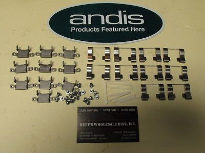 Andis Clipper Blade Parts 10-Sockets,10 Springs,10 Blade Guides, 20 Blade Screws