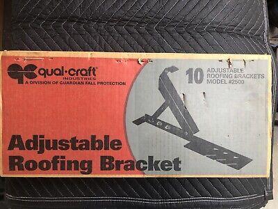 10qual Craft Pair 10 Adjustable Roof Brackets Steel Roofing Mounts 3 Angle Lock