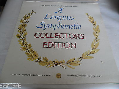 A Longines Symphonette Collector's Edition Vinyl LP