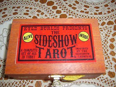 The Sideshow Tarot by Kyle Burles - 78 tarot card deck