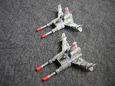 Battletech / Aerotech Ral Partha Sparrowhawk SPR-H5 Fighters x2 - Metal (3)