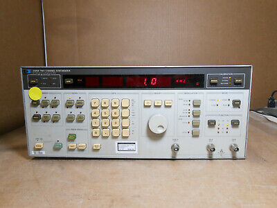 Hp 3326a Two Channel Synthesizer