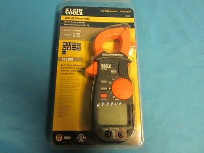 Klein Tools Cl1200 600a Ac Clamp Meter Multi-meter Clamp Meter New