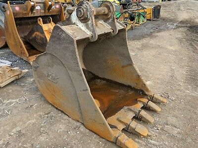 42 Tag Excavator Bucket 80 Mm Pins Fits Cat Case Deere Hitachi Komatsu