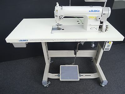 New Juki 8100E Lock Stitch Industrial Sewing Machine With Energy Saving Motor