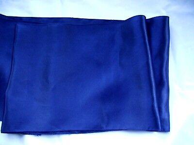Navy Blue Satin Table Runner Lot Of 6 size12