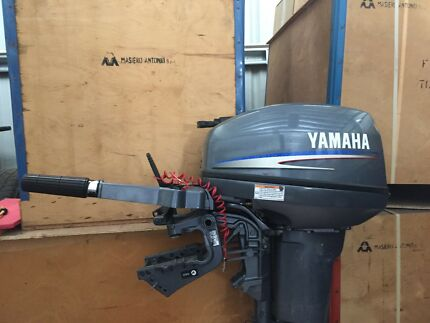 Yamaha 15HP 2 stroke short shaft Outboard Motor 2013 model