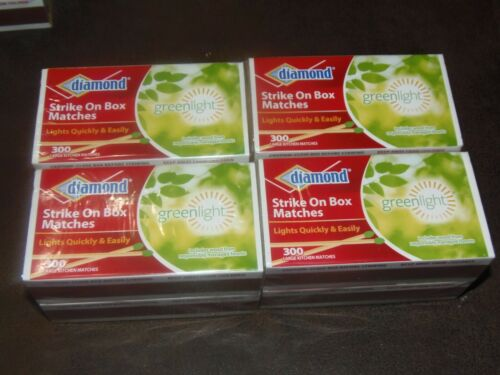 1200  MATCHES)   large size  STICK MATCHES, 300 per BOXES,
