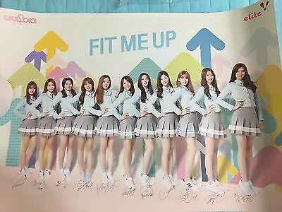 kpop GIRL  Ioi I.O.I elite bromide poster sejung mina sohye pinky doyeon yujung