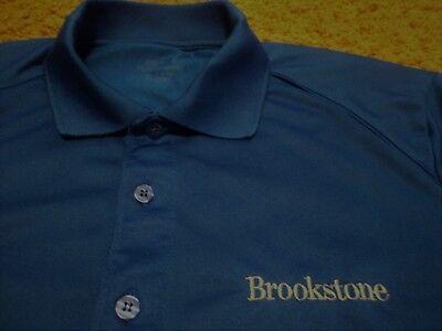 Men's Brookstone Gift Store Employee Uniform Novelty Polo Golf Shirt (Mens Gift Store)