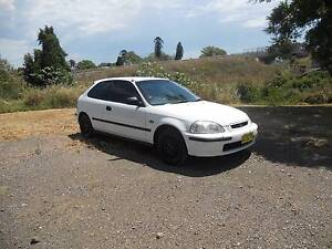 1997 Honda Civic Hatchback East Maitland Maitland Area Preview