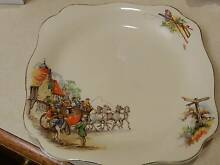 Antique (1912) G & J Meakin England Sunshine Plate Kyneton Macedon Ranges Preview