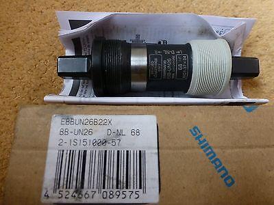 Innenlager Shimano BB-UN26K,122,5mm,BSA,Vierkant für Kettenkastenbefestigung Neu