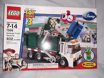 NEW Sealed Box! LEGO 7599 Toy Story 3 Garbage Truck Getaway