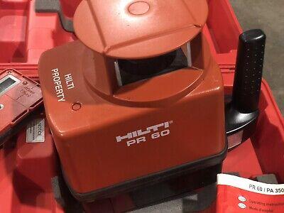 Hilti Pr60 Rotary Laser Kit
