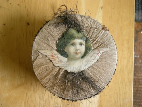 Victorian German Angel Candy Container - 1880