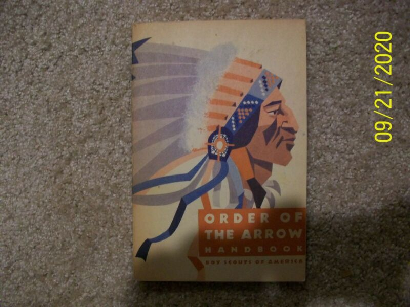 BSA Boy Scout New Order of the Arrow Handbook Book National Honor Society 1970