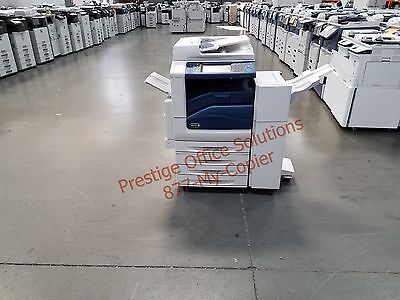 Xerox Workcentre 7835 Color Copier Printer. Low Meter
