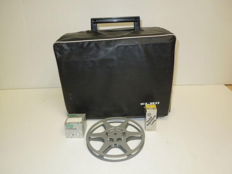 ELMO 16 CL 16mm MOVIE Film Projector Cinema  Tested WORKING Cinema
