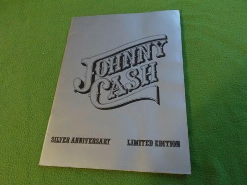 JOHNNY CASH Silver Anniversary 1979 Tour Program