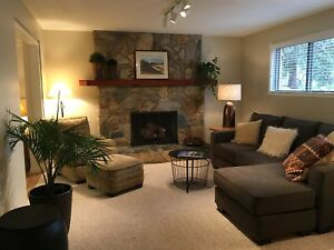 Downtown Canmore Furnished 2 Bedroom Suite