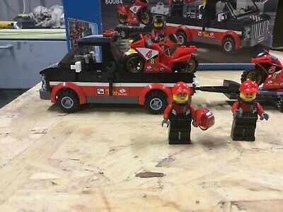 Lego City 60084 motorbike racers 5-12yrs preowned complete