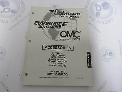 176729 OMC Evinrude Johnson Outboard Accessories Parts Catalog 1997