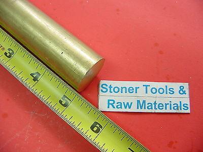 1 Brass C360 Round Rod 5 Long H02 Solid Brass Bar New Lathe Bar Stock 1.00 Od