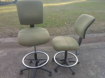 EXCELLENT DRAFTING HIGH CHAIR*OPERATOR*CHECKOUT*COUNTER*ADJUSTABL