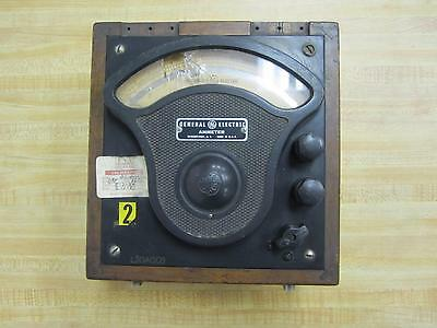 General Electric 3675325 Antique Amp Meter Vintage Industrial 39012