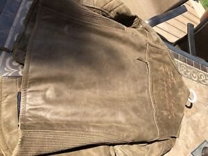 Indian motorcycle leather coat