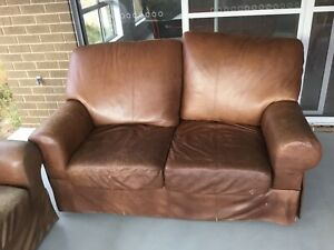 Free lounges and dining table with 6 chairs and a side buffet