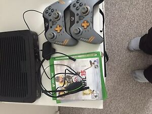 Xbox one with Kinect, 2 controllers and 3 games $300