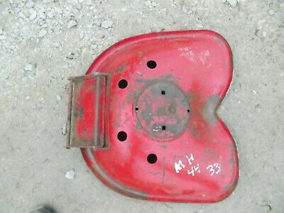 Massey Harris 33 44 Tractor Metal Seat Pan Assembly W Flip Over Bracket