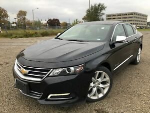 2018 Chevrolet Impala Premier-Navigation-Blind spot-Panorama roo