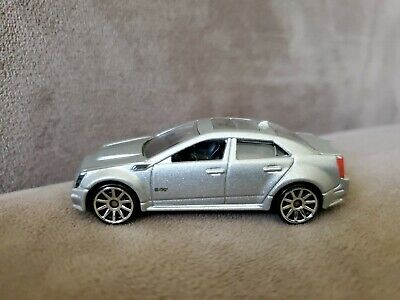 '09 Cadillac CTS-V - 2010 Hot Wheels New Models - Silver. Used. Loose.