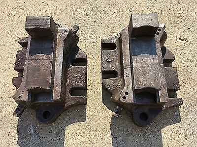 Set Of 2 Bullard Vertical Boring Mill Vtl Face Plate Jaws