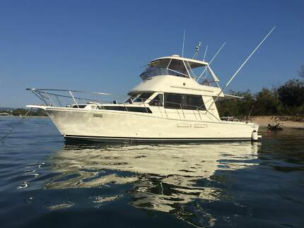 Steber 41 Flybridge Crusier