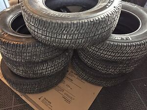 7 Brand new Michelin tires- off 2017 Ford Dually